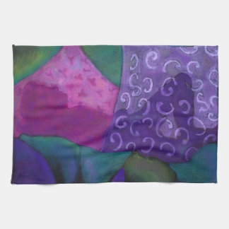 The Whimsical Hideaway - Purple and Magenta Heaven Towel