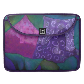 The Whimsical Hideaway - Purple and Magenta Heaven MacBook Pro Sleeve