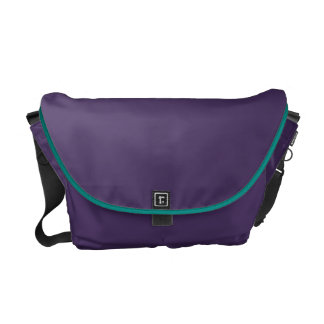The Whimsical Hideaway - Purple and Magenta Heaven Messenger Bag