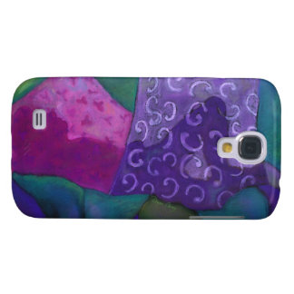 The Whimsical Hideaway - Purple and Magenta Heaven Samsung Galaxy S4 Cover