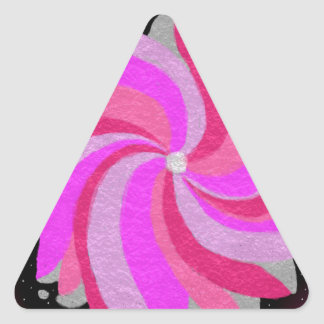 the whirl triangle sticker