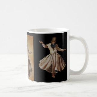 The Whirling Dervish Classic White Coffee Mug