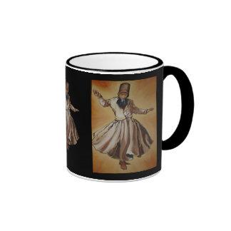 The Whirling Dervish Ringer Coffee Mug