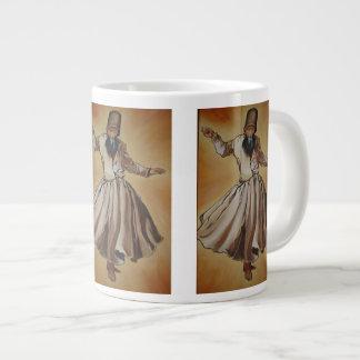 The Whirling Dervish 20 Oz Large Ceramic Coffee Mug