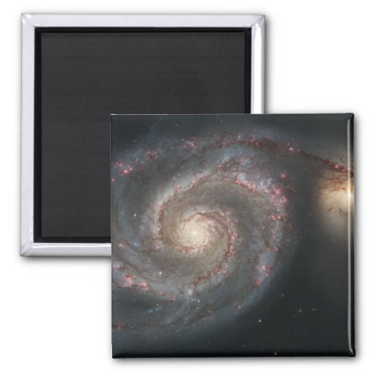The whirlpool galaxy (M51) and companion galaxy Magnet