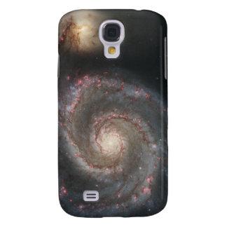 The whirlpool galaxy (M51) and companion galaxy Samsung S4 Case