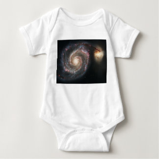 The Whirlpool Galaxy Messier 51a NGC 5194 Baby Bodysuit