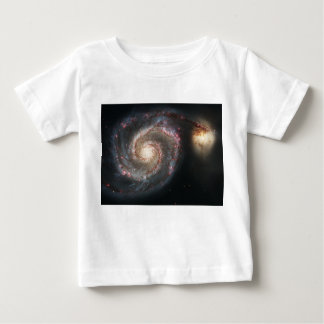 The Whirlpool Galaxy Messier 51a NGC 5194 Baby T-Shirt