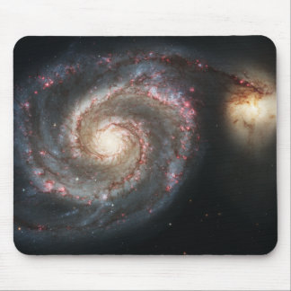 The Whirlpool Galaxy Messier 51a NGC 5194 Mouse Pad