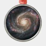 The Whirlpool Galaxy Messier 51a NGC 5194 Ornament
