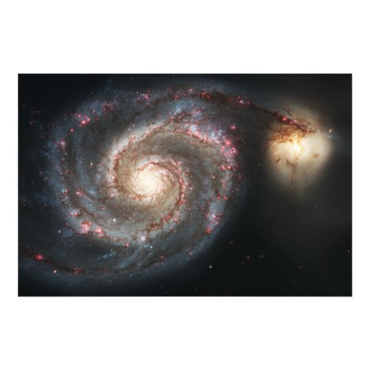 The Whirlpool Galaxy Messier 51a NGC 5194 Photo Print