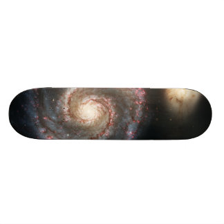 The Whirlpool Galaxy Messier 51a NGC 5194 Skateboards