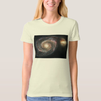 The Whirlpool Galaxy Messier 51a NGC 5194 T-Shirt
