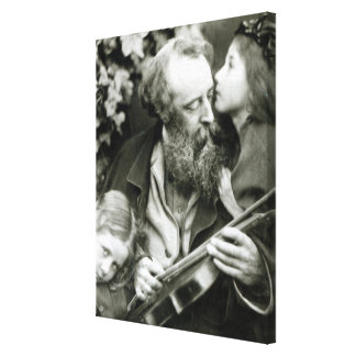 The Whisper of the Rose Canvas Print