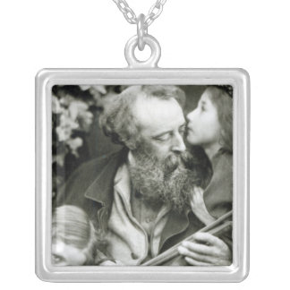 The Whisper of the Rose Silver Plated Necklace
