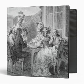 The Whist Party, 1783, engraved by Jean Dambrun (1 Binder