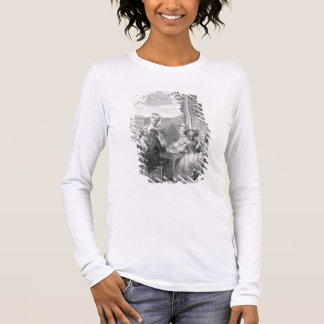 The Whist Party, 1783, engraved by Jean Dambrun (1 Long Sleeve T-Shirt