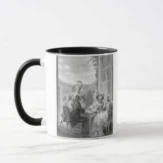 The Whist Party, 1783, engraved by Jean Dambrun (1 Mug