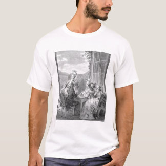 The Whist Party, 1783, engraved by Jean Dambrun (1 T-Shirt