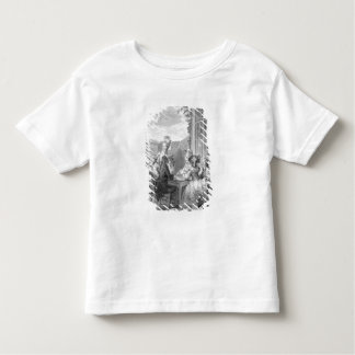 The Whist Party, 1783, engraved by Jean Dambrun (1 Toddler T-shirt