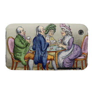 The Whist Party (colour litho) iPhone 3 Case-Mate Case