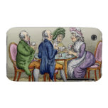 The Whist Party (colour litho) iPhone 3 Covers