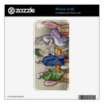 The Whist Party (colour litho) iPhone 4 Decal