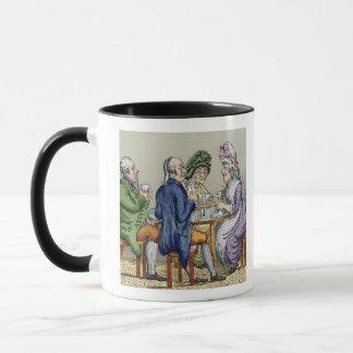 The Whist Party (colour litho) Mug