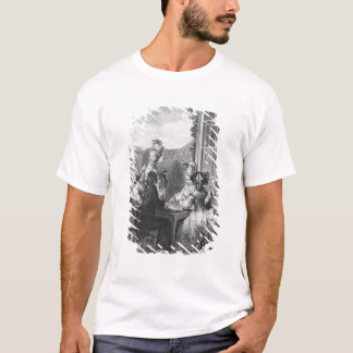 The whist party, engraved by Jean Dambrun  1783 T-Shirt