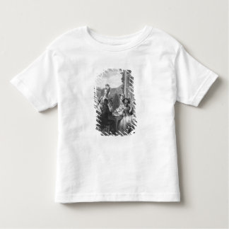 The whist party, engraved by Jean Dambrun  1783 Toddler T-shirt