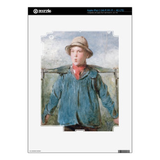 The Whistling Farm-Hand, 19th century (w/c and bod Decals For iPad 3