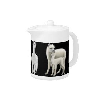 The White Alpaca Family Teapot