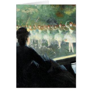 The White Ballet Card