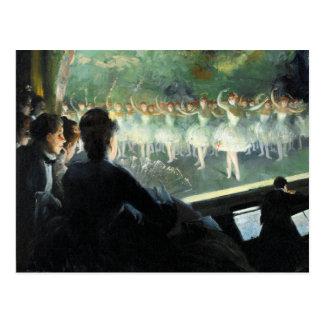 The White Ballet Postcard