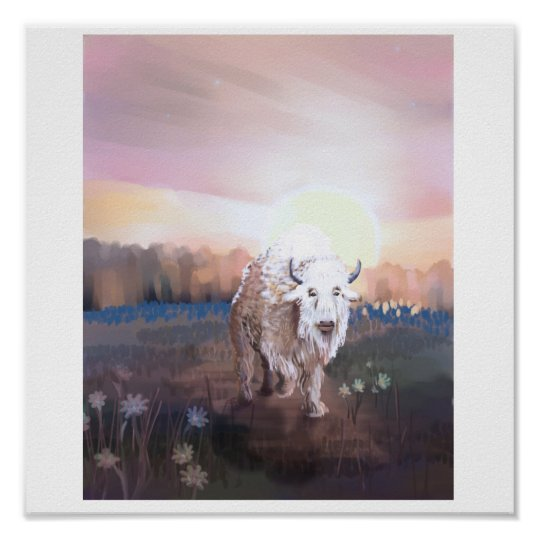 The White Buffalo Invocation Poster