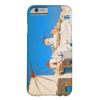 The white buildings and the windmills on the barely there iPhone 6 case