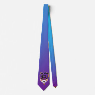 The White Chihuahua-YEAR OF THE DOG Neck Tie