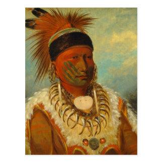 The White Cloud, Head Chief of the Iowas Postcard