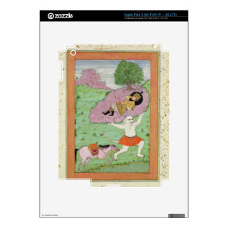 The White Demon carrying off the sleeping Rustam, Decal For iPad 3