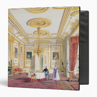The White Drawing Room at Windsor Castle (colour l Vinyl Binders