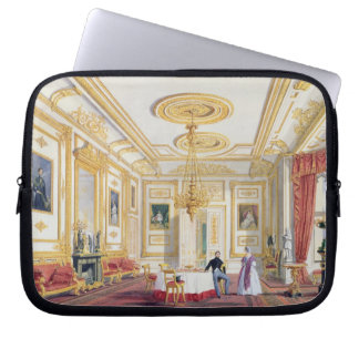 The White Drawing Room at Windsor Castle (colour l Computer Sleeves