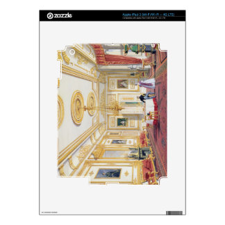 The White Drawing Room at Windsor Castle (colour l iPad 3 Decal
