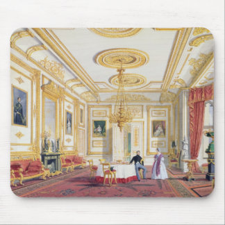 The White Drawing Room at Windsor Castle (colour l Mouse Pad