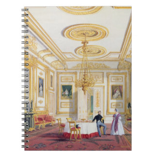 The White Drawing Room at Windsor Castle (colour l Notebook