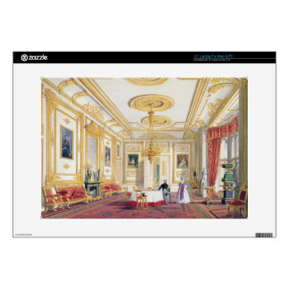 """The White Drawing Room at Windsor Castle (colour l Skin For 15"""" Laptop"""