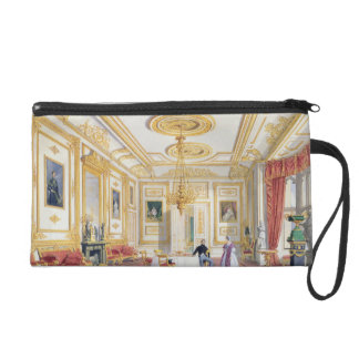The White Drawing Room at Windsor Castle (colour l Wristlet Purses
