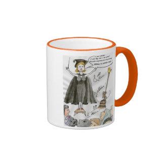 The white ego coffee mugs