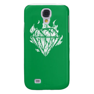 the white fire diamond is mind galaxy s4 cover