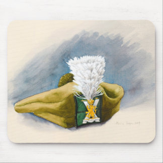 The White Hackle Mouse Pad