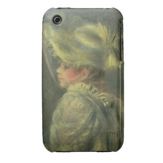 The White Hat (oil on canvas) Case-Mate iPhone 3 Case